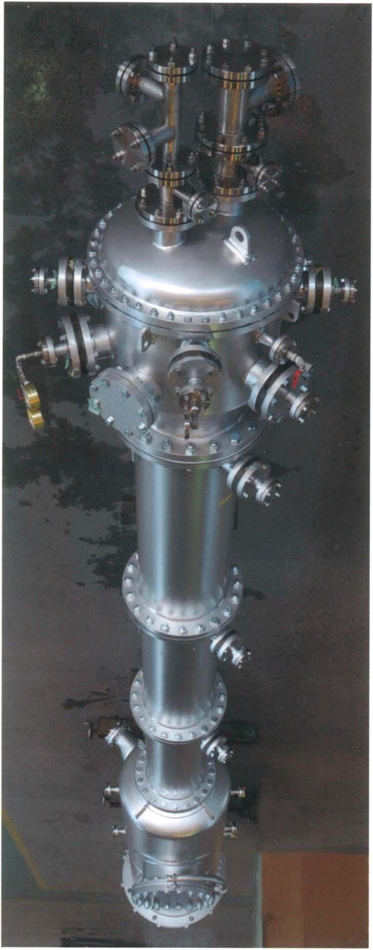 【TiCl4の吸収塔】寸法 500A×9mH
